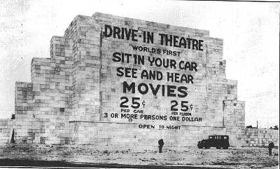 Image result for first drive in movie theater